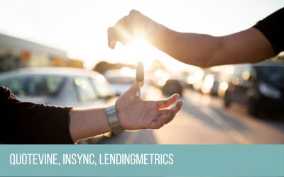 Quotevine, partners with LendingMetrics to power INSYNC