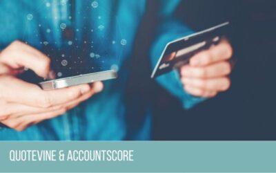 Quotevine Partners with AccountScore