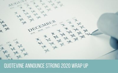 Quotevine Announces Strong 2020 Wrap Up