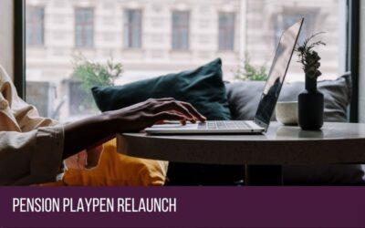 Pension Playpen Relaunch